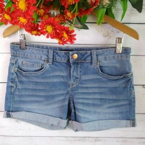 Aeropostale Midi WOMEN Jeans Shorts Size 8
